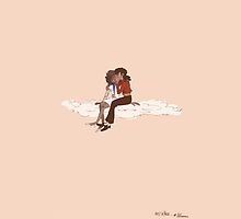 On A Cloud - MJ/Whitney by youngearlgrey