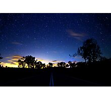 The Starry Road Photographic Print