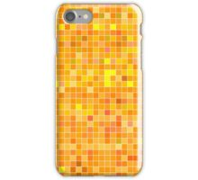 Orange Mosaic [iPhone / iPad / iPod Case] iPhone Case/Skin
