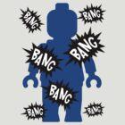 Minifig BANG BANG BANG by Customize My Minifig by ChilleeW