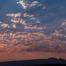 Dawn Over Sleeping Indian, Jackson Hole, Wy by A.M. Ruttle