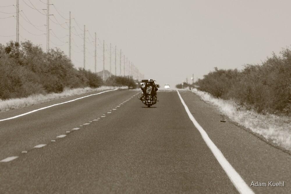 Cruisin Rt. 60 in Western Arizona by Adam Kuehl