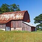 Old Barn in Michigan by Kenneth Keifer