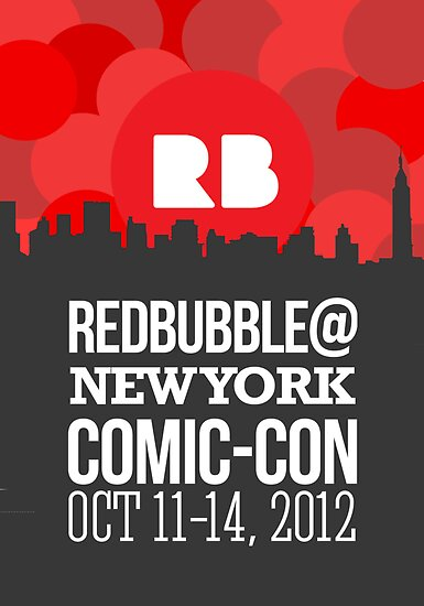 Official RB/NYCC Show Poster Challenge by Terry To