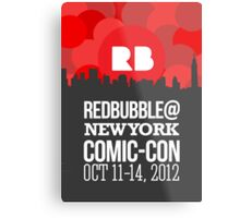 Official RB/NYCC Show Poster Challenge Metal Print