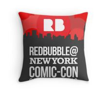 Official RB/NYCC Show Poster Challenge Throw Pillow