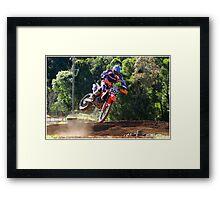 Kembla MX Framed Print