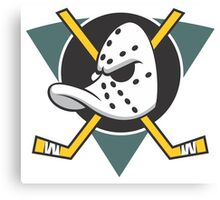 Mighty Ducks of Anaheim NHL Hockey League  Canvas Print