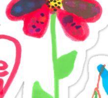 Summer scene Sticker
