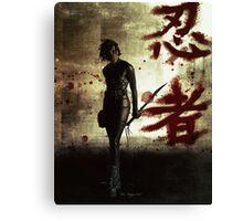 Ninja Canvas Print