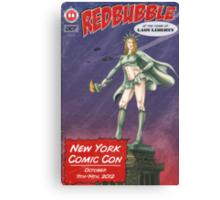 Redbubble at New York Comic Con 2012 Canvas Print