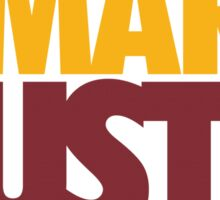 Work Smart Hustle Hard- Cavs Sticker