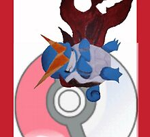 Kamina Squirtle by bdgut42