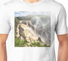 Barron Falls after a cyclone Unisex T-Shirt