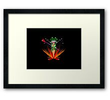 Beware the Sorceress 2 Framed Print