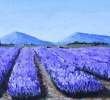 Lavenders by Grange Brigitte
