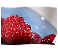 Raspberry Red Poster