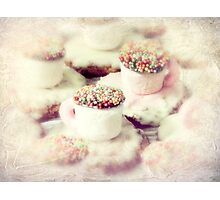 little teacups Photographic Print