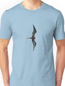 Galapagos Frigate in flight Unisex T-Shirt
