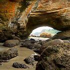 Cave at Newport, Oregon by franceshelen