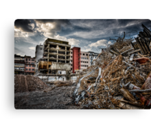 De-Construction Canvas Print