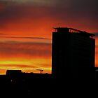 Sunset in Birmingham, UK by kenea