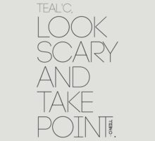 Look Scary and Take Point 2 Black by CaelisMiran