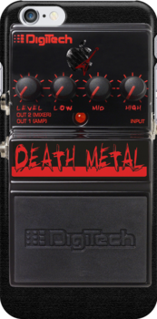 Death Metal Case by PerkyBeans