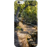 On the track to Twin Falls iPhone Case/Skin