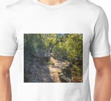 On the track to Twin Falls Unisex T-Shirt