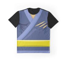 Garb of the Adept Ninja (Yellow Belt) Graphic T-Shirt
