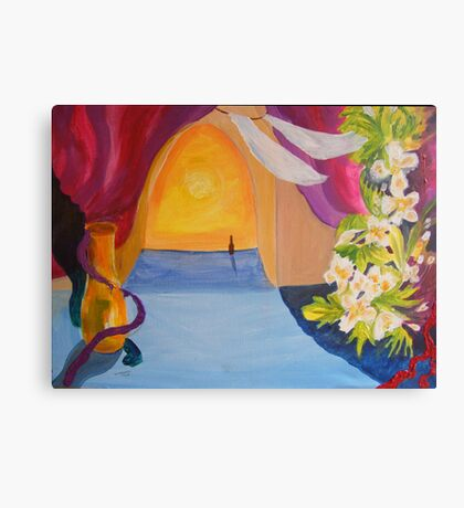 The Beckoning     SURREAL YET REAL, SPIRITUAL YET EARTHLY Canvas Print