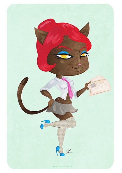 Kitty girl three by Jenji