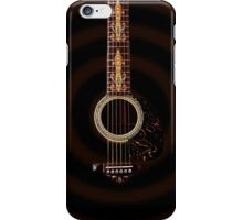 Guitar illustration-Iphone case iPhone Case/Skin