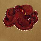 Coconut Octopus by Jenji