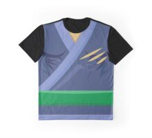 Garb of the Adept Ninja (Green Belt) Graphic T-Shirt