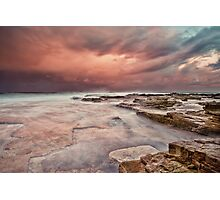 Chalky Beach Photographic Print