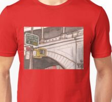 street signs to queensboro bridge Unisex T-Shirt
