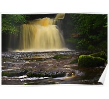 Cauldron Falls, 2 Walden Beck, North England  Poster