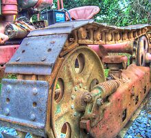 Rusted In It's Tracks by James Brotherton