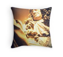 Bust of Charles II Throw Pillow