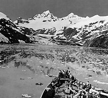 BW USA Alaska glacier bay national monument 1970s by blackwhitephoto
