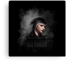 Black Widow Ashe Canvas Print