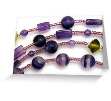 Beads #3 Greeting Card