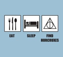 Eat Sleep Find Horcruxes by tappers24