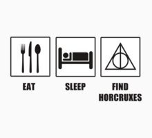Eat Sleep Find Horcruxes Kids Clothes