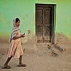 A Girl by a Door by Valerie Rosen