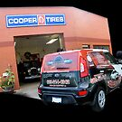 Cooper Tires by Robert Beck