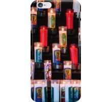 Religious Candles iPhone Case/Skin