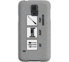 Eat Sleep Play Qudditch Samsung Galaxy Case/Skin